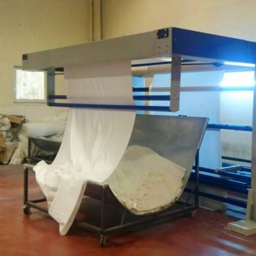 Kumaş Sallama Makinası (Top Açma )